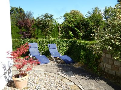 Photo for Vacation on a large garden plot in beautiful nature near the Bodden