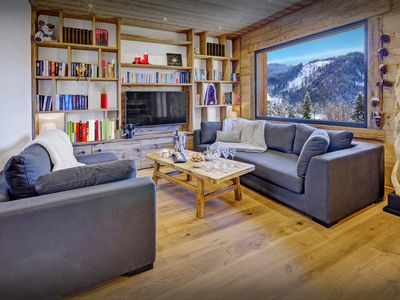 Photo for Ski back to this beautifully 4 star chalet for 12 - OVO Network