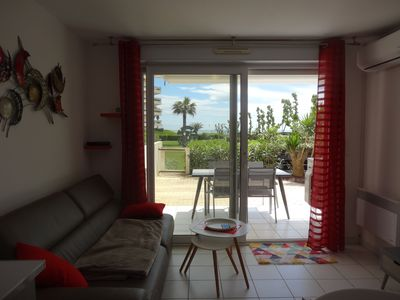 Photo for F2 36 M ², FRONT OF SEA TERRACE OF 40 M ² PARKING SWIMMING POOL CLIMATISATION WIFI