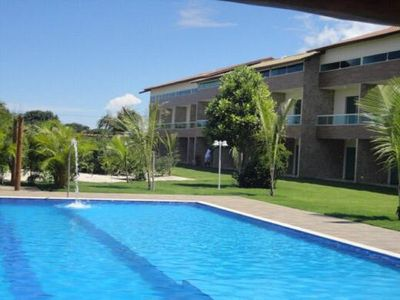 Photo for Beautiful Village !! Triplex, 4 suites, lap pool, 200 mt from Espera beach