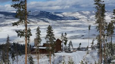 Photo for Mountaintop Escape On 35 Acres in Winter Wonderland Awaits!!