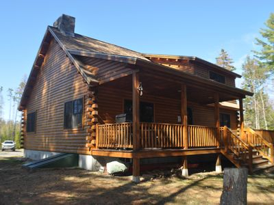 Photo for Kineo Escape - Beautiful Riverfront Cabin in Rockwood