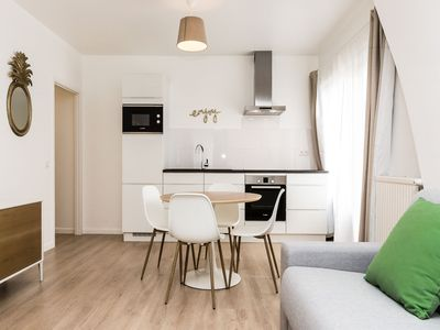 Photo for Lia - Beautiful 1bdr in the European District, Brussels