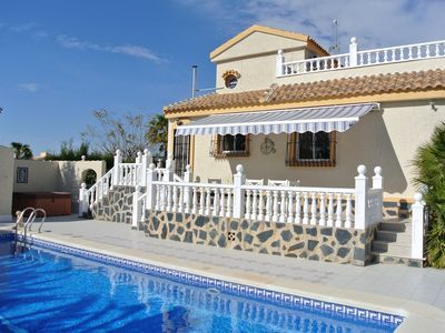 Photo for Gorgeous luxury fully equipped villa in Camposol, Mazarron, Costa Calida, Spain