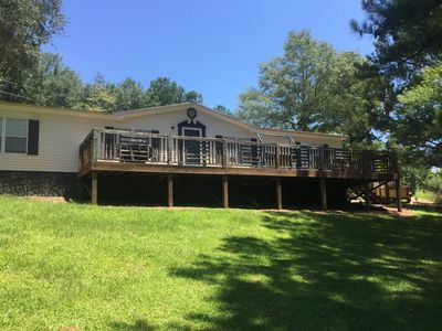 Our private property is nestled between Lineville & Lake Wedowee Alabama.