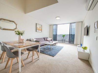 Photo for Elegance, Lakeside living & Stunning View close to Sydney CBD