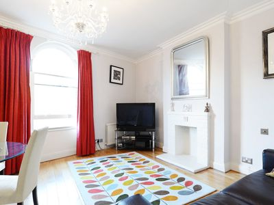 Photo for A fabulous 2 bed apartment moments from some of London's museums (Veeve)