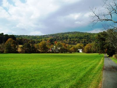 Photo for 18th C. HOME ON COOKS CREEK / CONSERVED 100 ACRE FARM (NYC 1.5 hrs; Phila. 1 hr)