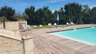Photo for NEW! THE DEPENDANCE, IDEAL FOR A COUPLE WITH 2 CHILDREN In Villa with swimming pool.
