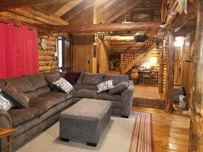 Photo for Log Cabin - Cozy 1 Mile To Festivals and Slopes