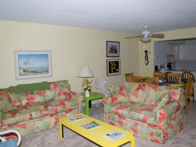 "Photo for Multi-level Oceanside Condo with plenty of room to ""spread out""!"