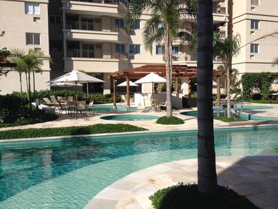 Photo for Apartment with complete infrastructure near the beach and Recreio Shopping