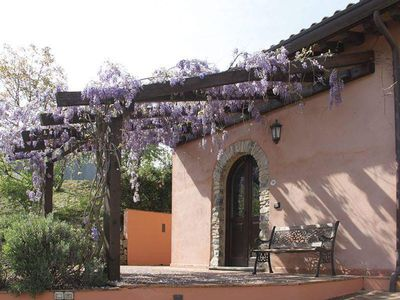 """Photo for """"Forgetmenot"""": Mini lodge with pool in countryside near Cinque Terre"""