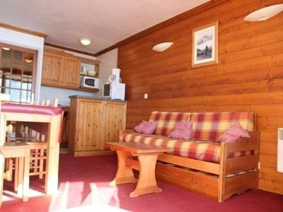 Photo for Apartment Val Thorens, studio flat, 6 persons