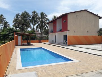 DUPLEX HOUSE WITH SEA VIEW - SWIMMING POOL AND 3 BEDROOMS (2 WITH AIR)