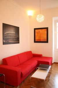 Photo for Apartment 966 m from the center of Rome with Internet, Air conditioning, Lift, Washing machine (9817)