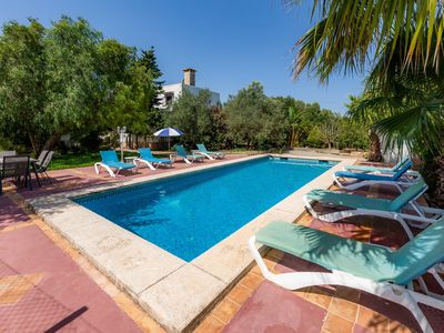 Photo for In the country with pool - Villa Can Garba