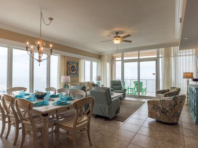Photo for 12th Floor 4BR Corner Unit at the New Phoenix Gulf Shores! Water Slide!!
