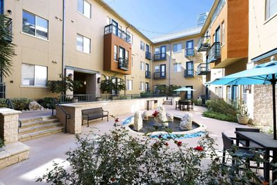 Courtyard with Outdoor Seating