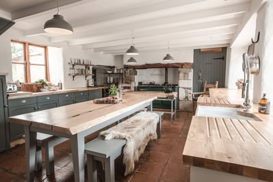Manor Kitchen with 4 Oven AGA