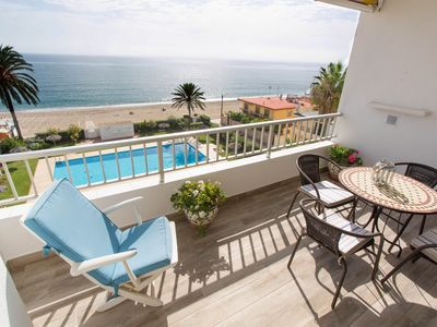 Photo for Beautiful, beach front apartment, with stunning sea view.