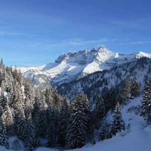 Photo for Ski in & out the Portes du Soleil, sunny apartment facing the Dents du Midi