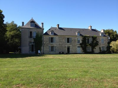 Photo for Château In The Normandy Countryside. Set In Five Acres Of Grounds With A Heated