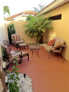 Photo for Beautiful 1st Floor 2 Bedroom Condo with Courtyard in Golf Course Community