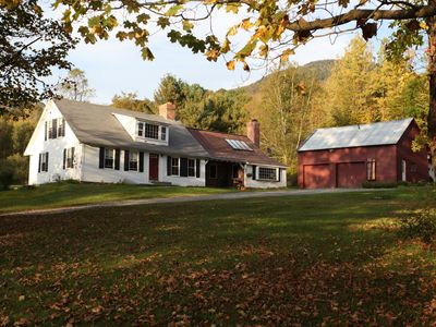 Vermont Farmhouse in the Heart of the Green Mountains
