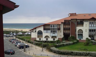 Photo for Apartment beach South Hossegor, 2nd line balcony sea view and pool.