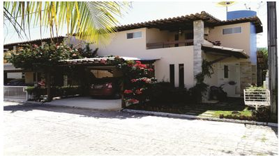 Photo for R $ 400,00 average / daily - HOUSE OF FRONT P / A BEACH IN COND. CLOSED LIVING LIFE.