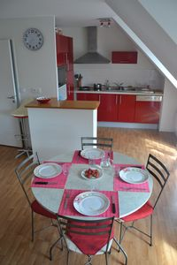 Photo for Bright apartment in recent residence located 150m from the beaches