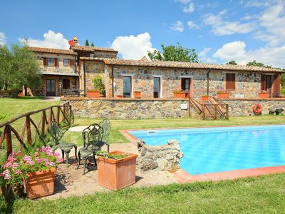 Photo for 5BR Villa Vacation Rental in Radicofani, Tuscany