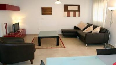 Photo for 2 Bedroom Ground Floor  poolside Apartment, near Hotel