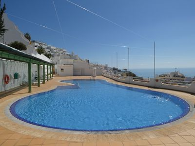 Photo for 2 Bed & 1 Bath With Amazing Sea Views, Pool, Garage, A/C, Cable Tv & Internet