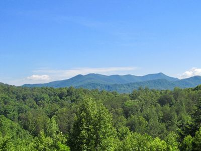 Photo for Great Mountain Views, Convenient Location, River Access, Dog Friendly, 12B