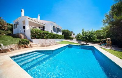 Photo for VILLA BINI BELIN - Ideal for families, fenced pool, near Binibeca Beach