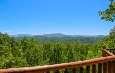 Photo for *Specials* Breathtaking Mountain Views, Relaxation & Luxury Owner Managed Cabin