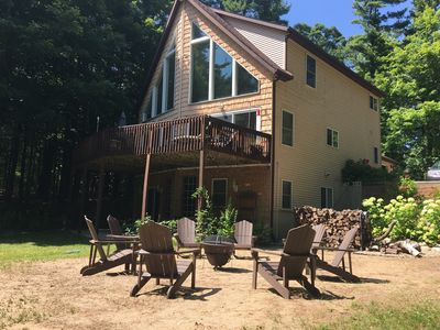 Photo for Gorgeous Home on secluded, 10 acre wooded lot.