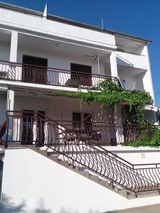 Photo for Two bedroom apartment with balcony and sea view Biograd na Moru, Biograd (A-863-b)