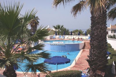 The communal pool - heated in winter months