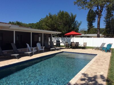 Photo for A Short Walk to Siesta Key Beach. Pet Friendly- New Pool