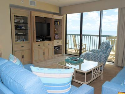 Photo for Oceanfront 4 Bedroom 3 Bath Condo with Outdoor Pool, Indoor Pool, Lazy River, Kiddie Pool, and Fitness Room