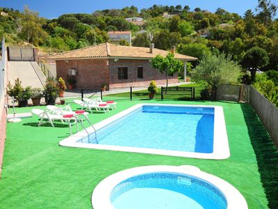 Photo for This 3-bedroom villa for up to 7 guests is located in Lloret De Mar and has a private swimming pool