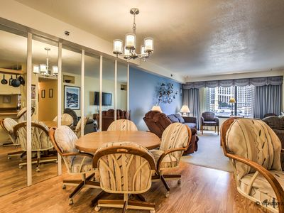 Photo for Classic comfort! | Retro styled 2 Bedroom Condo at the Jockey Club ON THE STRIP!