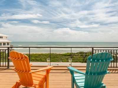 Photo for Ocean Front Dream Home 4 bedroom, 3 bath.  6060S