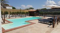 Outstanding villa with pool just several minutes walk from the beach