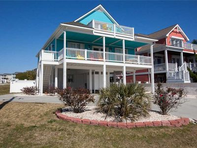 Photo for Maota Ile Same (Castle by the Sea): 5 BR / 4 BA single family home in Kure Beach, Sleeps 16
