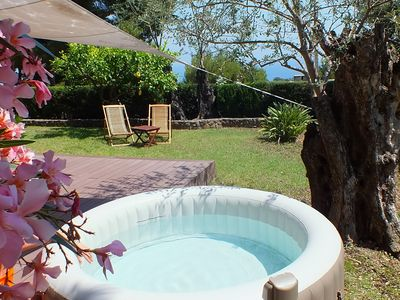 Photo for 2 room apartment in villa with private garden in Roquebrune-Cap-Martin