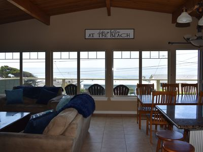 NEW LISTING! Ocean View with Deck & Hot Tub, Close Beach Access, Close to Casino